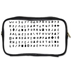 Zodiac killer  Toiletries Bags