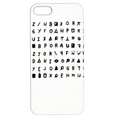 Zodiac killer  Apple iPhone 5 Hardshell Case with Stand