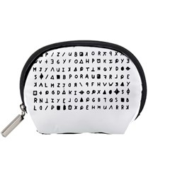 Zodiac killer  Accessory Pouches (Small)