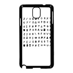 Zodiac killer  Samsung Galaxy Note 3 Neo Hardshell Case (Black)