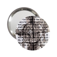 Zodiac killer  2.25  Handbag Mirrors