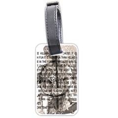 Zodiac killer  Luggage Tags (Two Sides)