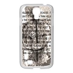 Zodiac killer  Samsung GALAXY S4 I9500/ I9505 Case (White)
