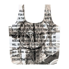 Zodiac killer  Full Print Recycle Bags (L)
