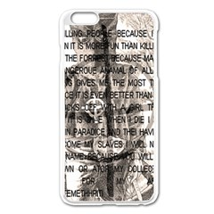 Zodiac killer  Apple iPhone 6 Plus/6S Plus Enamel White Case