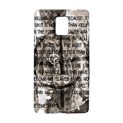 Zodiac killer  Samsung Galaxy Note 4 Hardshell Case