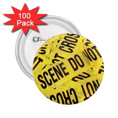 Crime scene 2.25  Buttons (100 pack)