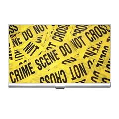 Crime scene Business Card Holders