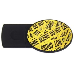Crime scene USB Flash Drive Oval (1 GB)