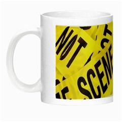 Crime scene Night Luminous Mugs