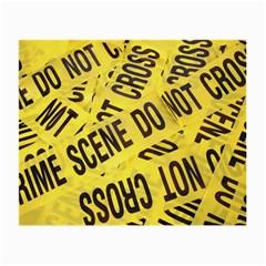 Crime scene Small Glasses Cloth