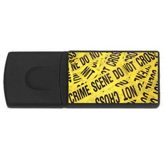 Crime scene USB Flash Drive Rectangular (4 GB)