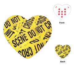 Crime scene Playing Cards (Heart)