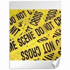 Crime scene Canvas 36  x 48