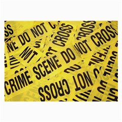 Crime scene Large Glasses Cloth