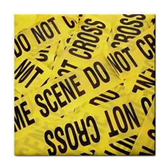 Crime scene Face Towel