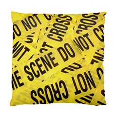 Crime scene Standard Cushion Case (Two Sides)