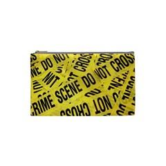 Crime scene Cosmetic Bag (Small)