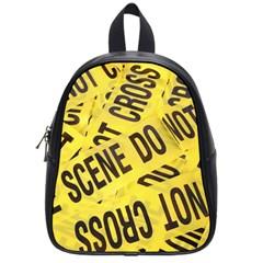 Crime scene School Bags (Small)
