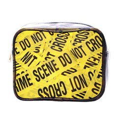 Crime scene Mini Toiletries Bags