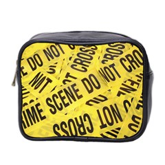 Crime scene Mini Toiletries Bag 2-Side