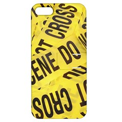 Crime scene Apple iPhone 5 Hardshell Case with Stand