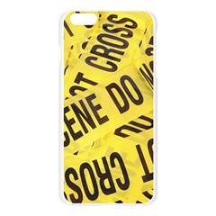 Crime scene Apple Seamless iPhone 6 Plus/6S Plus Case (Transparent)