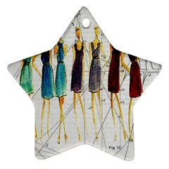 Fashion sketch  Ornament (Star)
