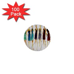 Fashion sketch  1  Mini Buttons (100 pack)