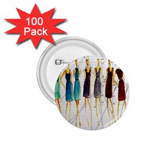 Fashion sketch  1.75  Buttons (100 pack)