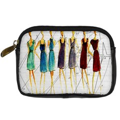Fashion sketch  Digital Camera Cases