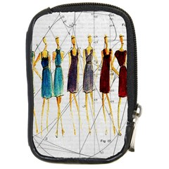 Fashion sketch  Compact Camera Cases