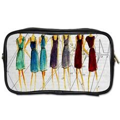 Fashion sketch  Toiletries Bags 2-Side