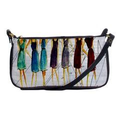 Fashion sketch  Shoulder Clutch Bags
