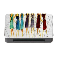 Fashion sketch  Memory Card Reader with CF