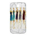 Fashion sketch  Samsung Galaxy S4 I9500/I9505  Hardshell Back Case Front
