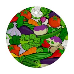 Vegetables  Ornament (Round)