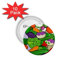 Vegetables  1.75  Buttons (10 pack)