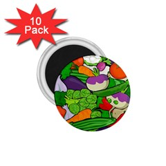 Vegetables  1.75  Magnets (10 pack)