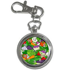 Vegetables  Key Chain Watches