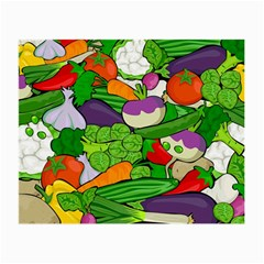 Vegetables  Small Glasses Cloth (2-Side)