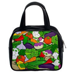 Vegetables  Classic Handbags (2 Sides)