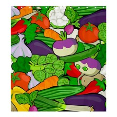 Vegetables  Shower Curtain 66  x 72  (Large)