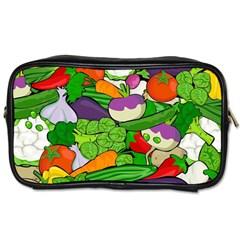Vegetables  Toiletries Bags 2-Side