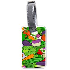 Vegetables  Luggage Tags (One Side)