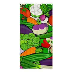 Vegetables  Shower Curtain 36  x 72  (Stall)