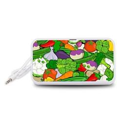 Vegetables  Portable Speaker (White)