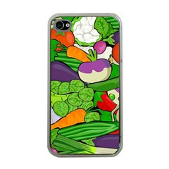 Vegetables  Apple iPhone 4 Case (Clear)