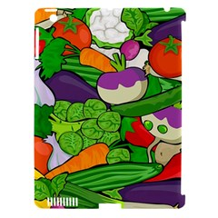 Vegetables  Apple iPad 3/4 Hardshell Case (Compatible with Smart Cover)