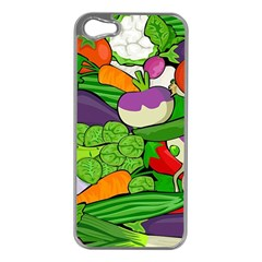 Vegetables  Apple iPhone 5 Case (Silver)